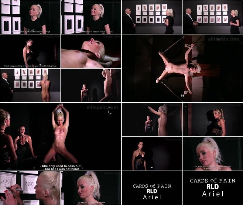 Ariel, Mistress Amanda, Mistress Tatjana - Cards of Pain RLD (720p)