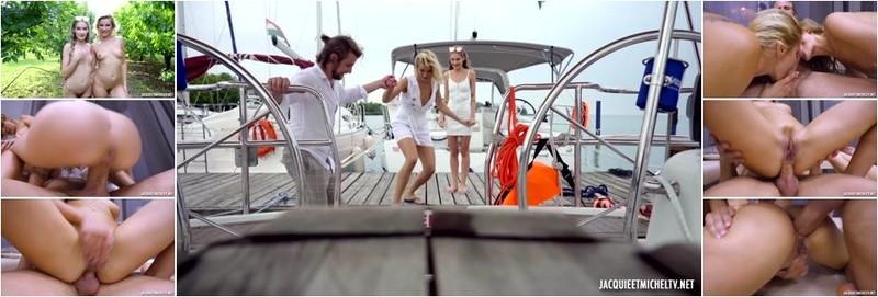 Cherry Kiss, Tiffany Tatum - Tiffany And Cherry Wanted To Bite The Captain At Lake Balaton (FullHD)