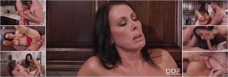 Reagan Foxx - Cucked Housewife With Huge Headlights Gets Satisfaction From Her Lover (HD)