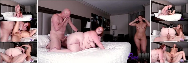Febby Twigs, Julie Ginger - Cheating with a sexy SSBBW in Vegas (HD)