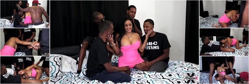 Maxine X - Hot Wife Anniversary BBC Gang Bang BTS Photoshoot (FullHD)