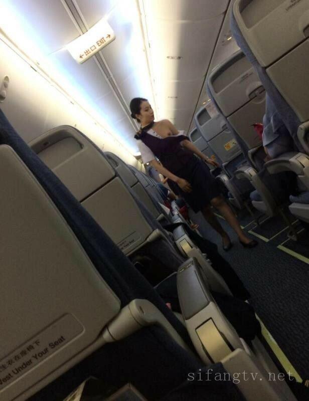 【稀缺航空】空姐兼職約炮、飛機上廁所絲襪誘惑等(上)
