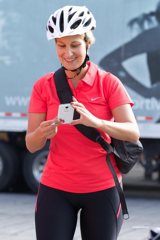 cyclist babe pretty leggings creepshot album