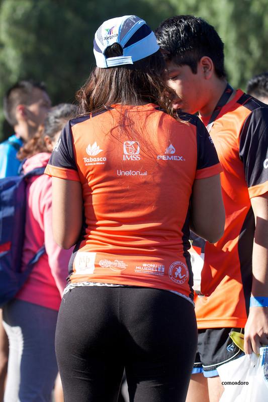 hispanic babe in naughty leggings
