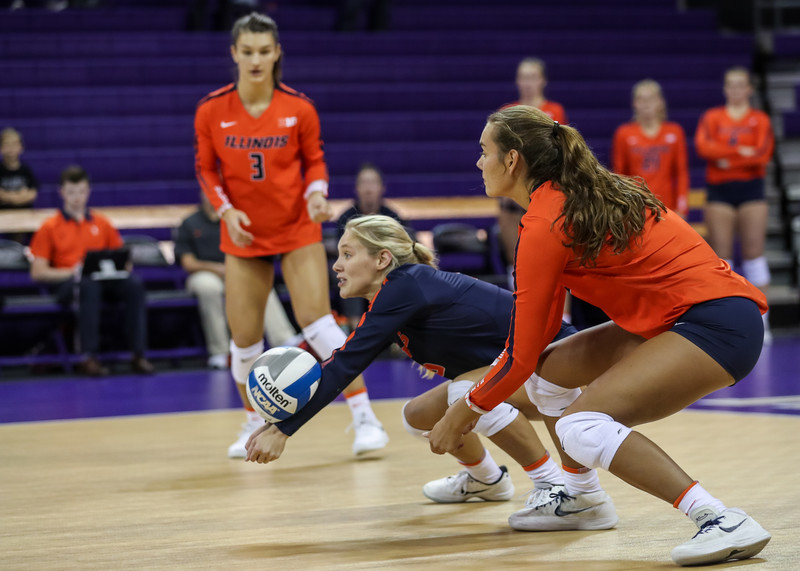 volleyball girls in lycra shorts
