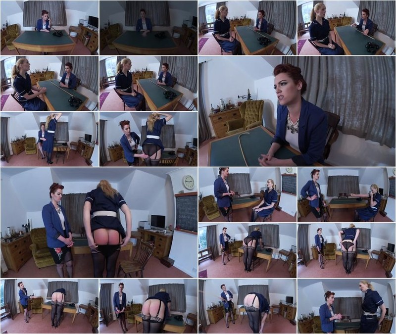 Ariel Anderssen - A Caning for the School Nurse (1080p)