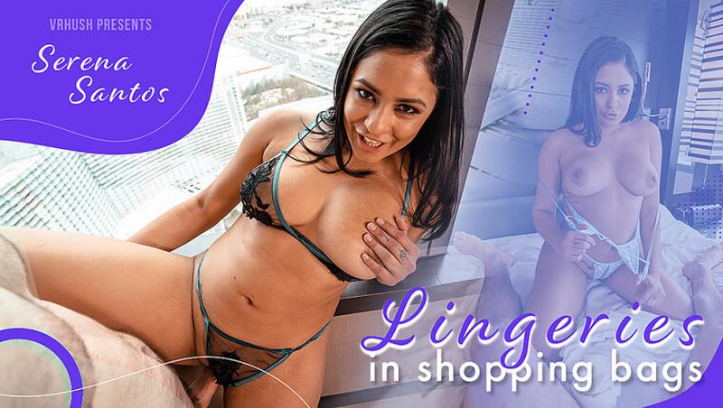 Serena Santos Lingeries In Shopping Bags Quest 2 Vive Oculus 8k