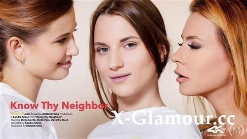 Dorothy Black, Stella Cardo, Stella Flex - Know Thy Neighbor (2019/SD)