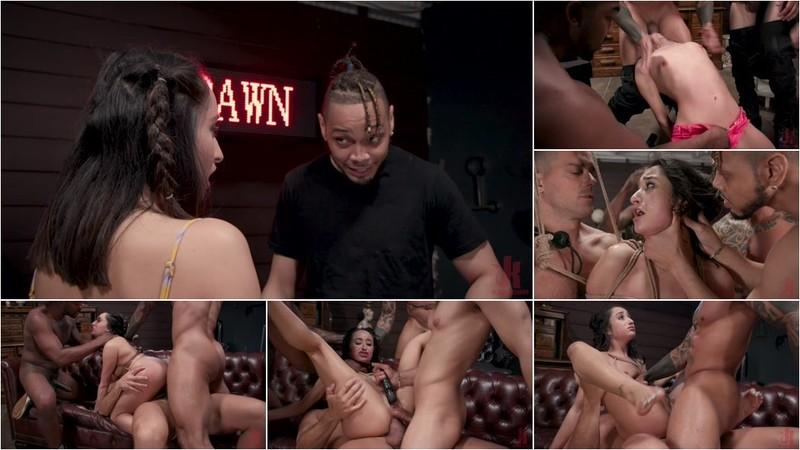 John Johnson - Gang Bang Pawn Shop: Isabella Nice Pays off Debt with All Her Holes [HD 720p]