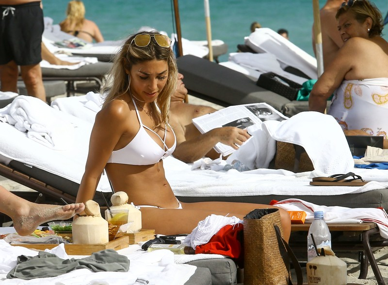 Chantel Jeffries & Alissa Violet in sexy bikinis