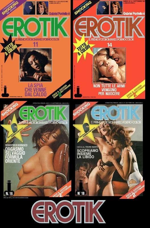 4 Magazines - Erotik (1982) JPG