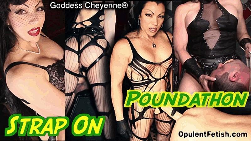 Goddess Cheyenne - Strap-On Poundathon [HD 720P]
