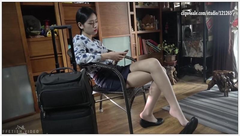 [K&M]丝足视频 空乘单鞋肉丝[MP4-703MB] 写真视频-第1张