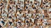 Femdom Lesbian Sex Strap On and Anal Play - Estella Bathory and Melissa