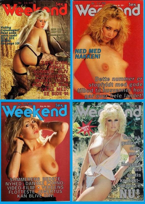 4 Magazines - Week-end Sex (1988-89) JPG