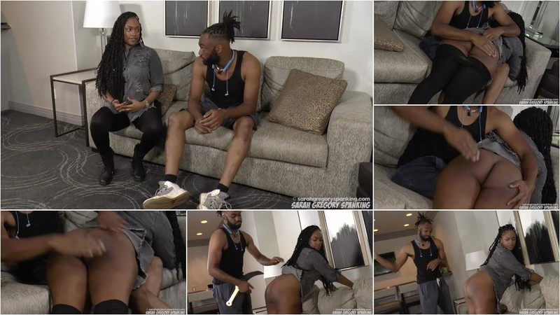 Sarah Gregory - Spanking Sarah Gregory - Tiana Spanked and Strapped [HD 720p]