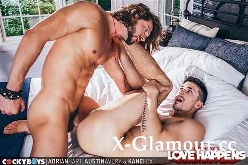 Austin Avery, Kane Fox, Adrian Hart - Love Happens Austin Avery, Kane Fox And Adrian Hart (HD)